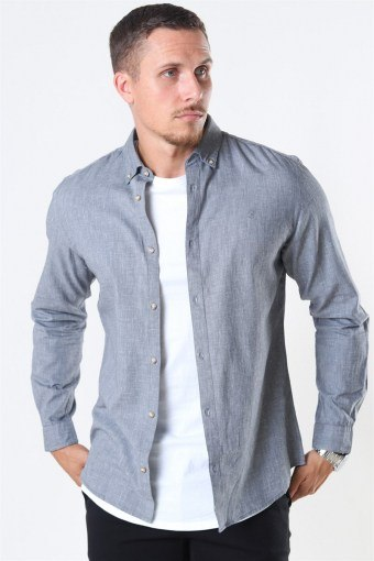 Blalogo Autumn Overhemd L/S Grey Melange