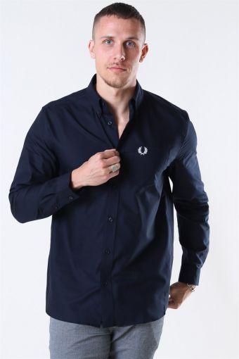Oxford Overhemd Navy