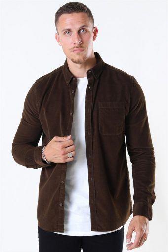 Juan LS Corduroy Overhemd Capers