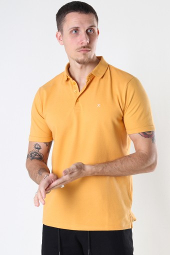 Silkeborg Stretch Polo Pale Orange