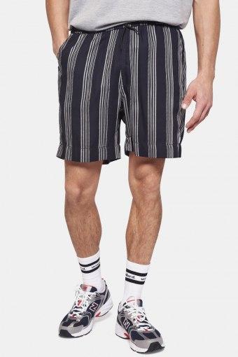 Bommy Seal Shorts Navy-White