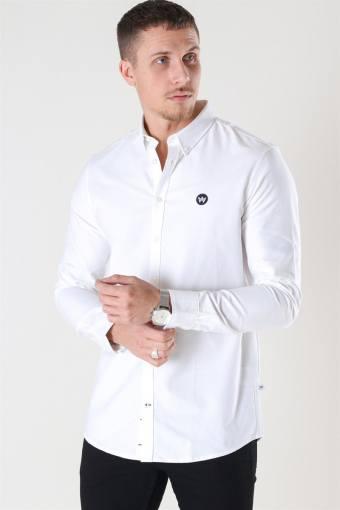 Johan Oxford Overhemd White