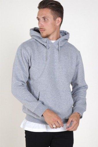 Soft Sweat Hood Light Grey Melange