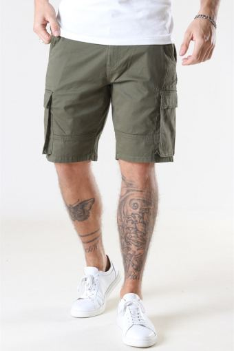 Cam Stage Cargo Shorts Olive Night