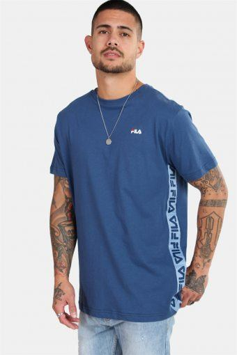 MEN Talan Tee SS Ensign Blue