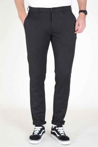 Steffen Twill Pants Grey