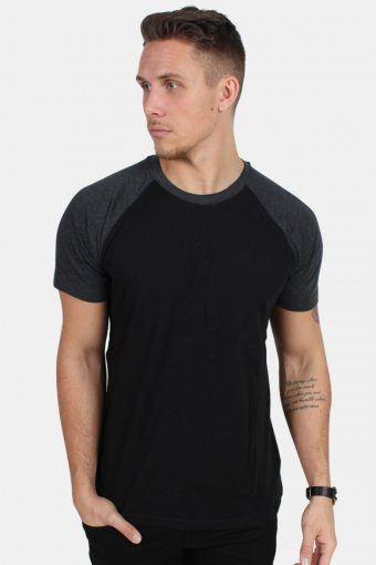 Klokban Classics TB639 T-shirt Black/Charcoal