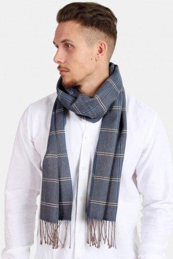 Sjaal Pedro Wool Mix Navy