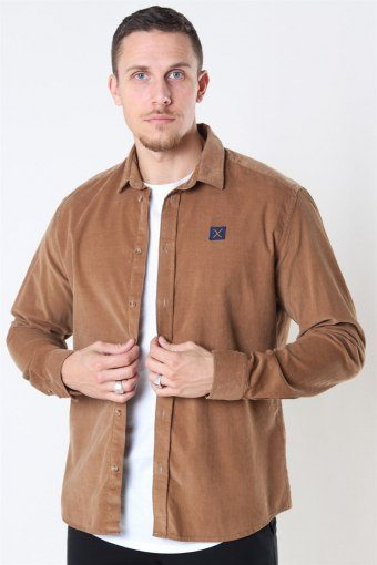 Clean Cut CordKlokoy Shirt LS Khaki