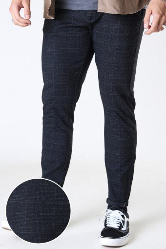 Pisa Black Shadow Check Pants