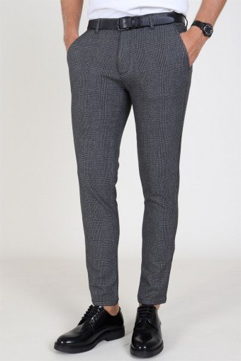 Tailored & Originals Nashua Frederic Pants Dark Grey Melange