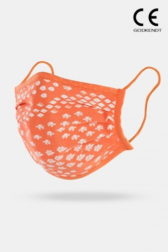 ISchoen Vital Supreme Line Face Cover Floral Orange