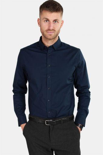 Tyler LS Overhemd Insignia Blue