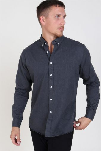 Clean Cut Sälen Flannel Overhemd Charcoal