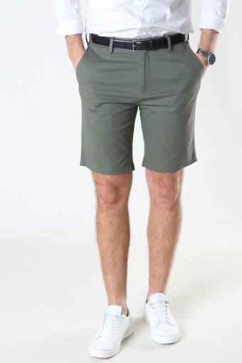 Milano Drake Stretch Shorts Dusty Green