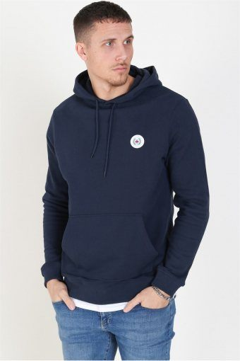 Our Shaxy Patch Hoodie Navy