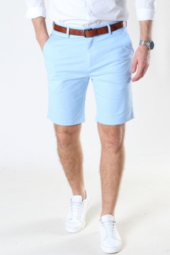 Milano Drake Stretch Shorts Light Blue