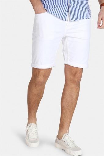 PLY Col PK 2439 Shorts White