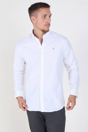 Clean Cut Oxford Plain Overhemd White