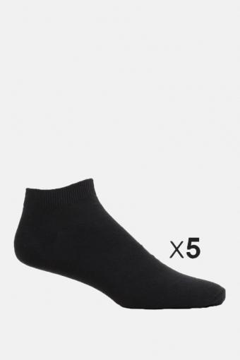 Dongo Kousen 5 Pack Black