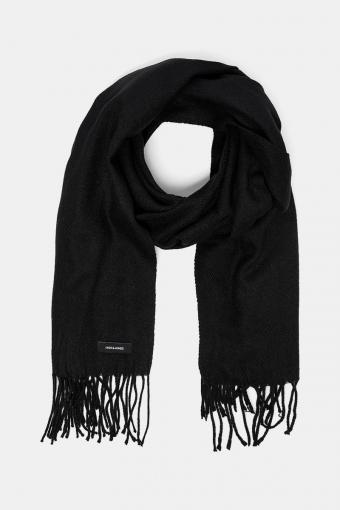 Solid Woven Sjaal Black
