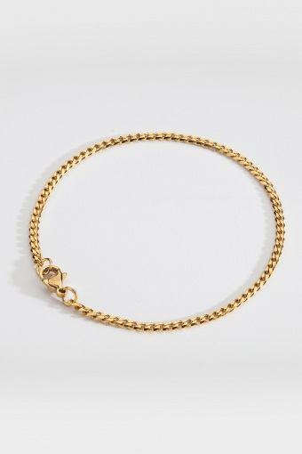 Minimal Sequence Armband Guld