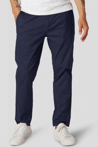 Milano Drake Stretch Pants Navy