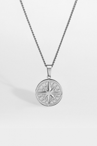 """Compass Ketting 2.0 """"Silver"""""""