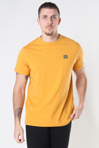 Basic Organic Tee Pale Orange