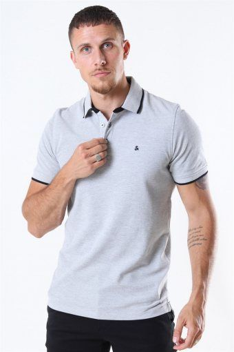 Paulos Polo SS Light Grey Melange