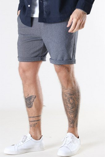 Clean Cut Milano Jersey Shorts Dark Grey Mix