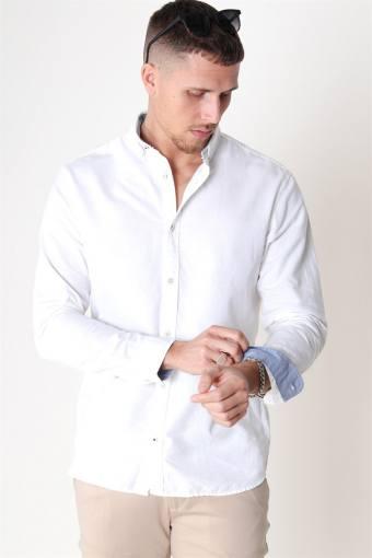 Summer Overhemd L/S White