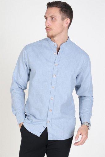 Dean Henley Overhemd Light Blue