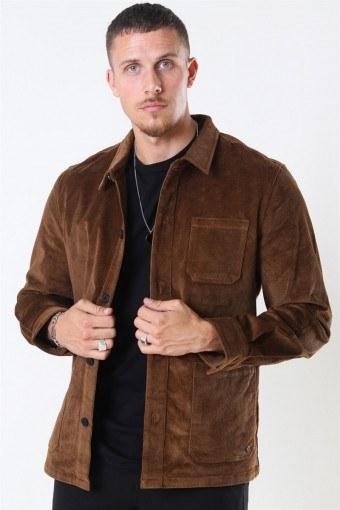 Clean Cut Steve Overshirt Camel