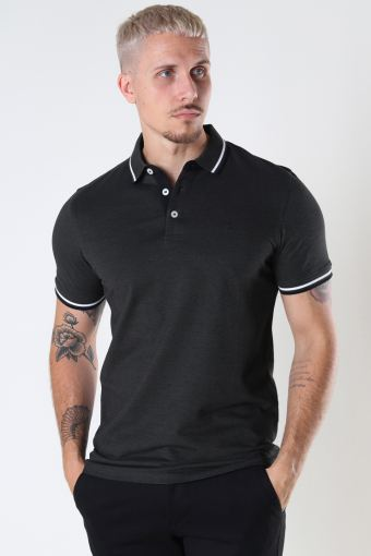 JJEPAULOS POLO SS NOOS Forest Night PLAY 1/SLIM FIT