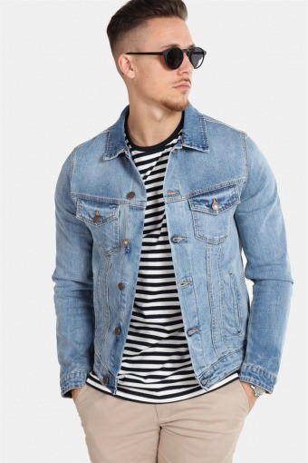 Jack & Jones Alvin Denim Jas SA 002 Noos Blue Denim