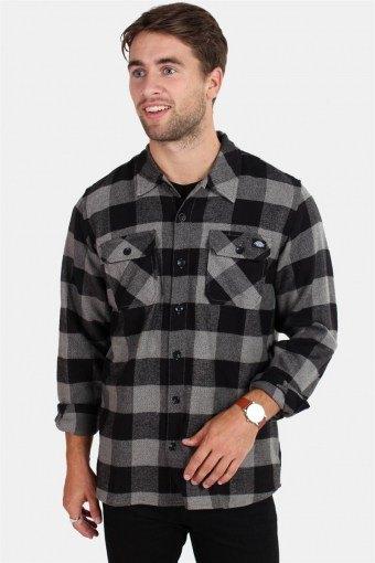 Sacramento Overhemd Grey Melange