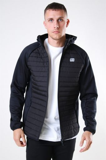 Jack & Jones Multi Quilted Jas Black
