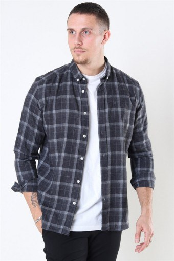 Clean Cut Sälen Flannel 3 Overhemd Antrasit