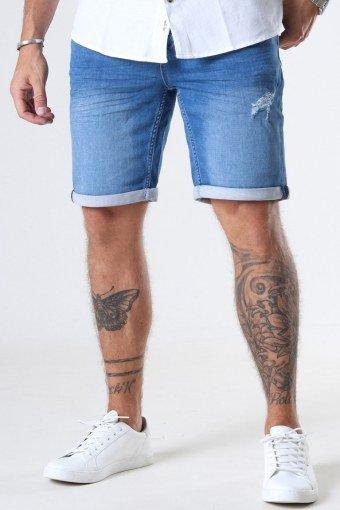 Ply PK 6950 Shorts Blue Denim