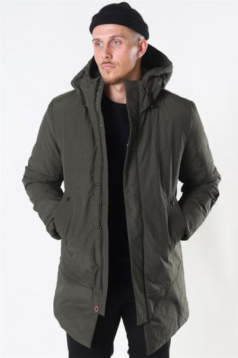 Echo Jacket Beetle Green