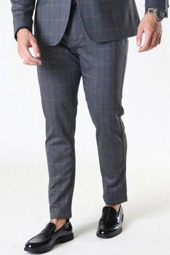 Clean Cut Milano Sean Pants Grey Check