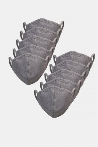 10-Pack Mondstuk Oxford Grey