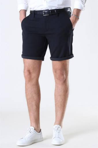 Mark Shorts Stripe GW Black