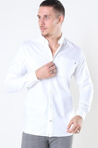 Classic Soft Oxford Overhemd LS White