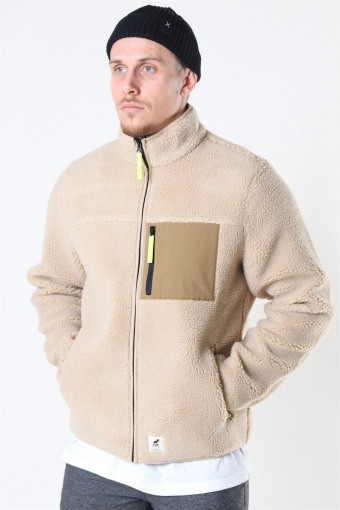 Hugh Fleece Jas Off White