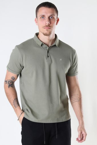 Silkeborg Stretch Polo Dusty Green