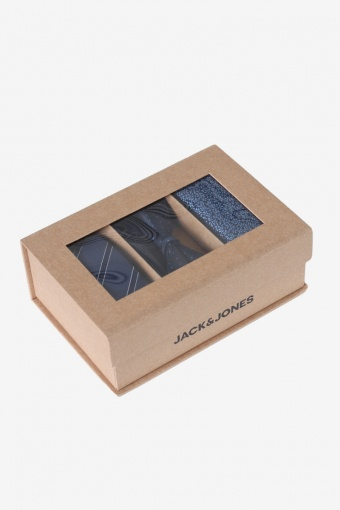 JACNECKTIE GIFT BOX POLY Navy Blazer