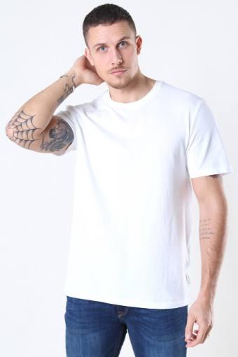 Millenium Life Reg SS T-shirt Pique White