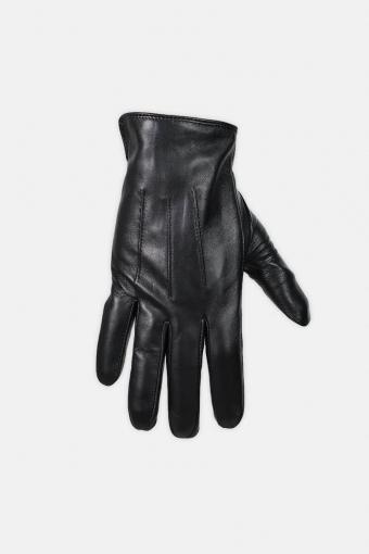 Sheepskin Leren handschoenen Black